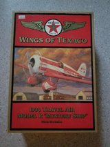 Wings of Texaco - 1930 Travel Air Model Mystery Ship Airplane Bank - 5th in series in Joliet, Illinois