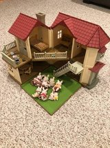 Calico Critters Townhome with furniture & 8 Rabbit Figures in Westmont, Illinois