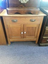 Antique Oak Washstand in Sugar Grove, Illinois