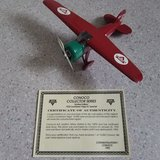 Spec Cast 1932 Lockheed Vega 5C Special from Conoco Aviation Airplane coin bank in Bolingbrook, Illinois