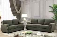 New! Fay Gray Linen Sofa (Loveseat Chair optional) FREE DELIVERY start in Oceanside, California
