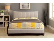 New! Ennis TWIN or FULL or QUEEN Size in Beige  Frame FREE DELIVERY in Oceanside, California