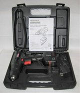 "SEARS CRAFTSMAN 3/8"" 7.2 Volt Cordless Drill with Case in Naperville, Illinois"