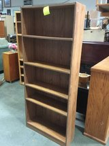 Nice, Sturdy Five Shelf Bookcase in Fort Lewis, Washington
