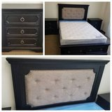 New! QUEEN Size Tufted Headboard with Storage Bed Frame FREE DELIVERY in Oceanside, California