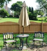 Wrought Iron Patio Table & 2 Chairs in Naperville, Illinois