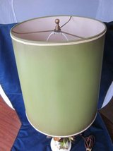 Lamp Shade Olive Green Marshall Field's ~ VINTAGE 1970s ~ EXCELLENT in Naperville, Illinois