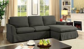 New Gray Maxine II Linen Sectional FREE DELIVERY in Camp Pendleton, California