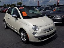 2013 Fiat 500C Lounge Convertible, Loaded, Automatic Trans, 87,000 Mi! in Cherry Point, North Carolina