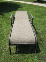 Outdoor Patio Chaise Reclining Lounge Chair in Algonquin, Illinois