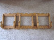2 Solid Oak Wood 3 Plate Holder in Algonquin, Illinois