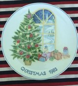Decorative plate Christmas 1983 Lillian Vernon in Joliet, Illinois