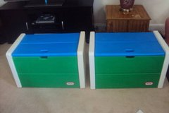 Little Tikes Toy Chest / Toy Box - Have TWO Matching! in Wilmington, North Carolina
