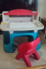 Step 2 Deluxe Art/Drawing DESK and CHAIR in Wilmington, North Carolina