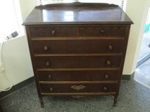 Six Drawer Antique Doernbecher Furniture Highboy Dresser - Delivery in Fort Lewis, Washington
