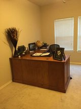 Real wood desk, large, traditional style in Kingwood, Texas