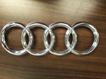 audi oem 05-10 a8 quattro grille grill-emblem badge nameplate 4e0853605aa2zz in Joliet, Illinois