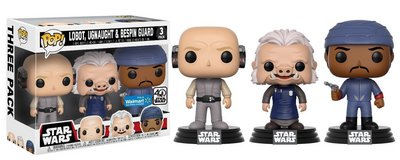 NEW Funko Movies: POP! Star Wars - Cloud City 3 Pack, Lobot, Ugnaught, Bespin Guard in Morris, Illinois