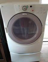 Need a good working dryer? See this whirlpool duet! in Fort Benning, Georgia