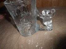20 0z. COCA COLA Drinking Glass / Mug with Thick Glass POLAR BEAR Handle!  Christmas Item and/or... in Bellaire, Texas