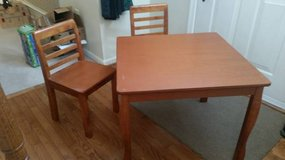 Children's Table and Chair Set in Quantico, Virginia