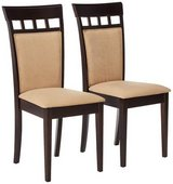 Furniture Coaster Company Cushion Back Dining Chairs, Cappuccino (Set of 2) in Plainfield, Illinois