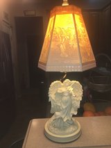 Angel lamp with lithophane shade in Quantico, Virginia