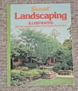 Vintage 1984 Sunset Landscaping Illustrated Guide To Ideas Planning How-To-Do-It in Plainfield, Illinois