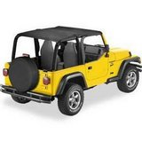 Bestop 52532-35 Safari Bikini Top for 03-06 Wrangler and Rubicon in Naperville, Illinois
