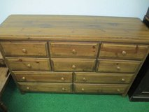 Solid Wood 10 Drawer Lowboy Dresser - Delivery Available in Fort Lewis, Washington