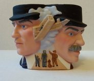 Vintage 1985 Avon Hand Painted Porcelain of The Wright Brothers Collector Character Mug in Morris, Illinois