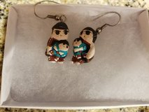 Vintage Storyteller earrings never worn in Camp Pendleton, California