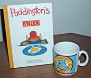 Vintage 90s Padding Bear Hard Cover A B C Book and Mug Lot Set Ceramic Cup in Shorewood, Illinois