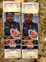 2 Chicago Bears vs Tampa Bay Buccaneers Tickets - United Club 206  FIRST ROW in Naperville, Illinois