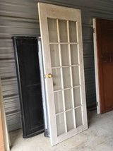 Vintage wooden French glass Door in Fort Benning, Georgia
