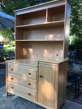 ~SOLID MAPLE CHILDRENS HUTCH AND DRESSER~ in Plainfield, Illinois