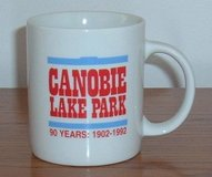 Vintage Canobie Lake Amusement Park Carousel 90 Years 1902 1992 Coffee Tea Mug in Oswego, Illinois