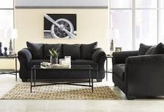 DARCY BLACK SOFA/LOVESEAT in Schofield Barracks, Hawaii