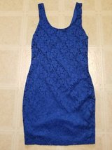 Cute Royal Blue Stretchy lined sleeveless dress in Camp Pendleton, California