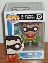 "NEW Funko Pop Heroes ROBIN 02 DC Comics Super Heroes 4"" Vinyl Figure in Yorkville, Illinois"