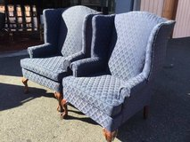 Beautiful Set of Winged Back Chairs - Delivery Available in Fort Lewis, Washington