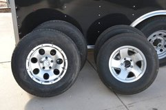 Used Trailer tires and wheels 5x4.5 Bolt pattern in Alamogordo, New Mexico
