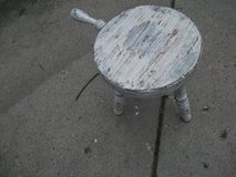 A 1960S ALL WOOD MILKING STOOL VINTAGE in Naperville, Illinois
