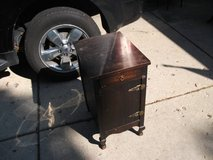 OLD WOOD CABINET / STORAGE BOX in Naperville, Illinois