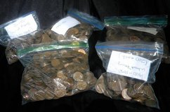 Wheat Pennies 1600 all for one $ in Camp Lejeune, North Carolina