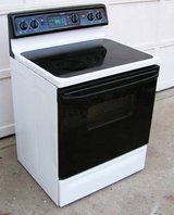 Range Stove Electric-  Glass Top By Frigidaire-White in Perry, Georgia