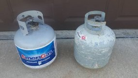 Lot of 2 -5lb Propane Tanks in Elgin, Illinois