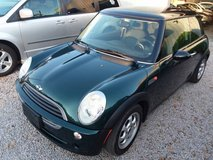 BRG Mini Cooper Coupe, 5 Speed Manual, Panoramic Sunroof, Cold AC, 92k in Cherry Point, North Carolina