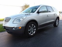2009 Buick Enclave CXL, Sunroof Leather DVD 3rd Row Seat Chrome Wheels in Cherry Point, North Carolina