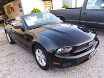 Black 2011 Ford Mustang Convertible 300HP V6 Automatic New Top + Tires in Cherry Point, North Carolina